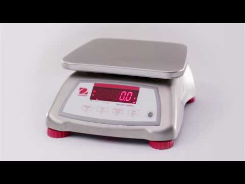 OHAUS Valor 2000 and Valor 4000 Food Scales: Features (EN)