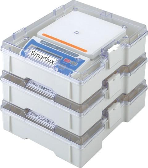 Digitalwaage A&D HT-500 / HT-5000 mit Aufbewahrungsbox