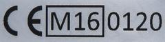 Kennzeichnung geeichte Waage ab 20.04.2016
