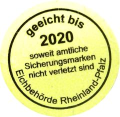 geeicht bis 2020