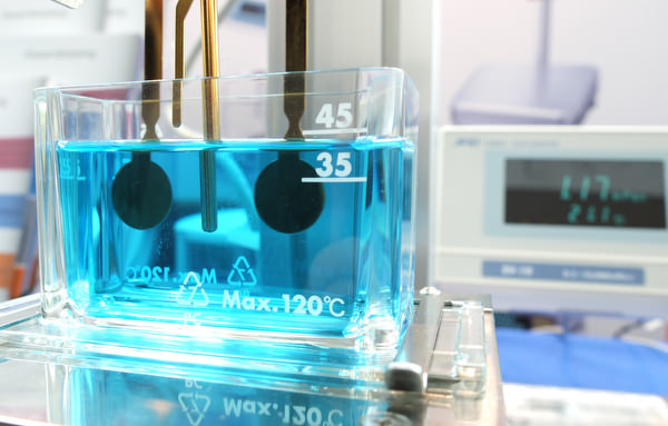 Viskosimeter: Schwingplatten