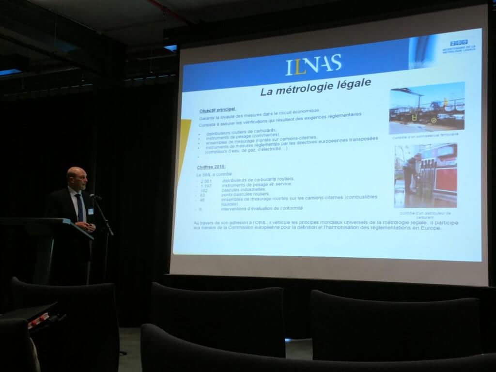 Philippe Kadok, Leiter des Bureau Luxembourgeois de Métrologie