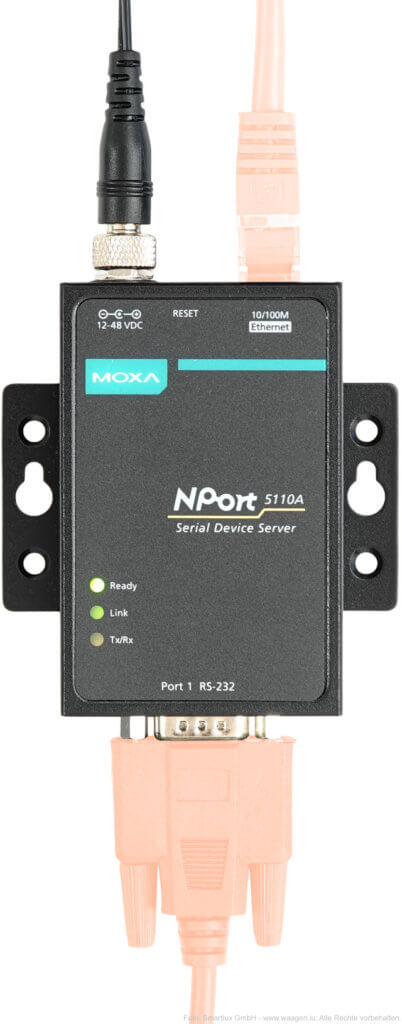 Moxa NPort 5110A Wandler RS-232 auf Ethernet