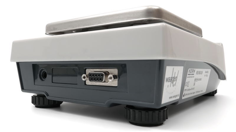Präzisionswaage Kern KB 650-2N: RS-232-Schnittstelle