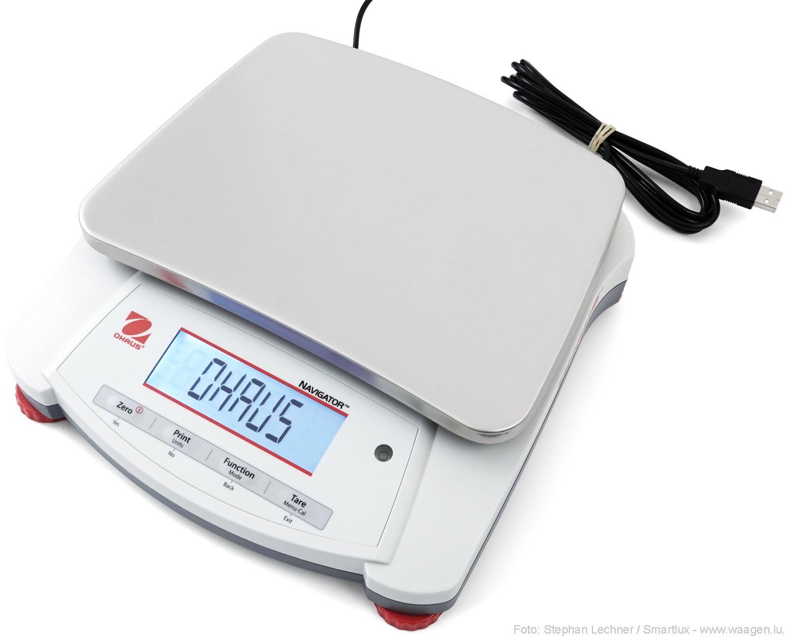 Ohaus Navigator Waage mit optionaler USB-Schnittstelle