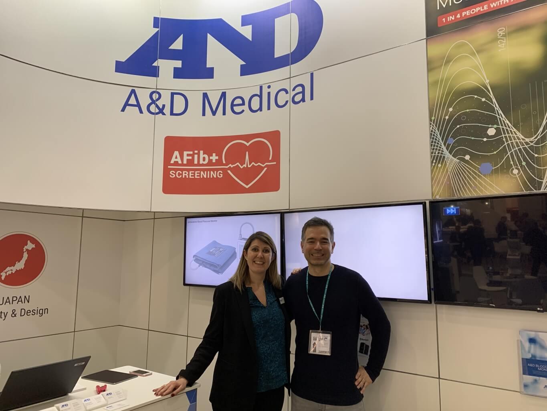 A&D Medical auf der Medica 2019