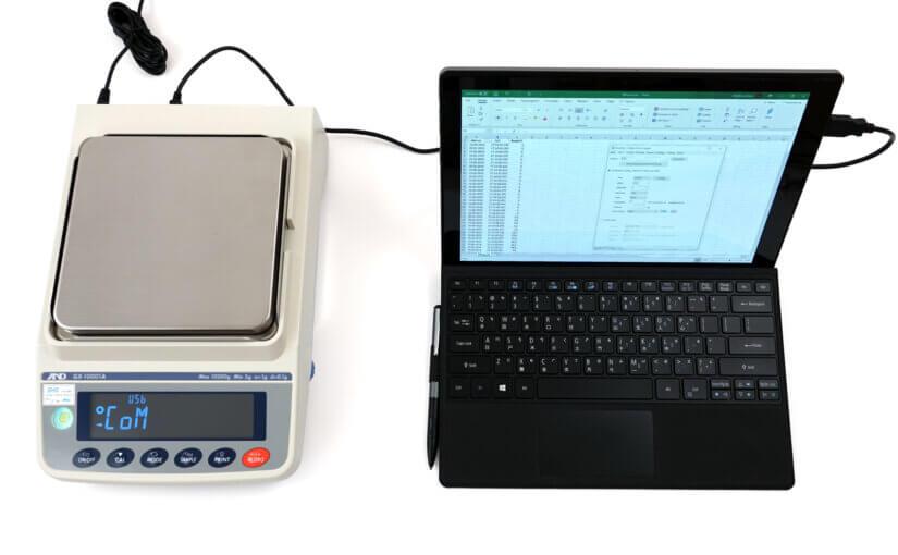 Präzisionswaage A&D GX-A: Schnittstellenbeschreibung RS-232 und USB